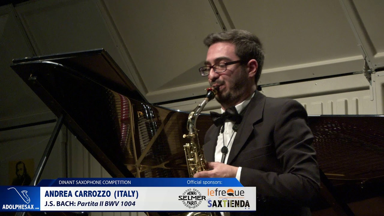 Andrea Carrozzo Italy    Partita II by J S  Bach