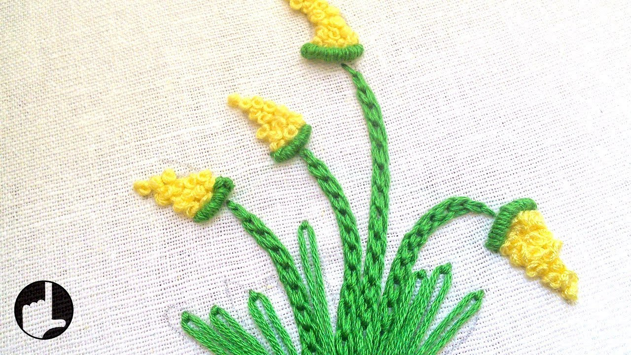 Easy embroidery stitches by hand handiworks youtube