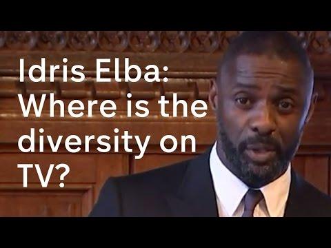 Idris Elba on the lack of diverse black roles on British TV