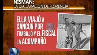 Nisman: qué declaró ante la Justicia  Florencia Cocucci- Telefe Noticias