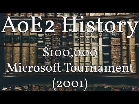 AoE2 History: $100,000 Microsoft Tournament (2001)