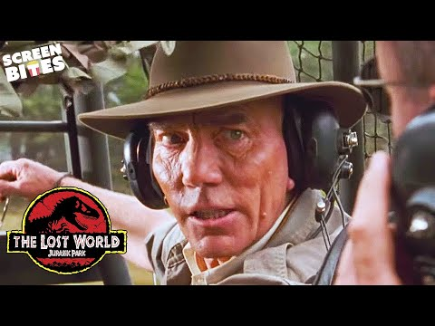 The Lost World: Jurassic Park  Arrival on Isla Sorna  Pete Postlethwaite