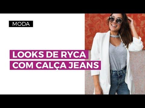 Looks de Ryca com calça jeans | Camila Gaio