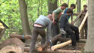 Steam bending - Building a Timber Frame Home