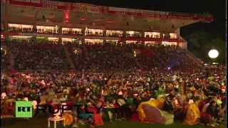 LIVE World Cup 2014 Finals: fans watching Germany vs. Argentina