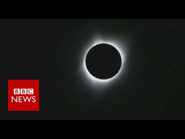 A total solar eclipse sweeping across the US- BBC News