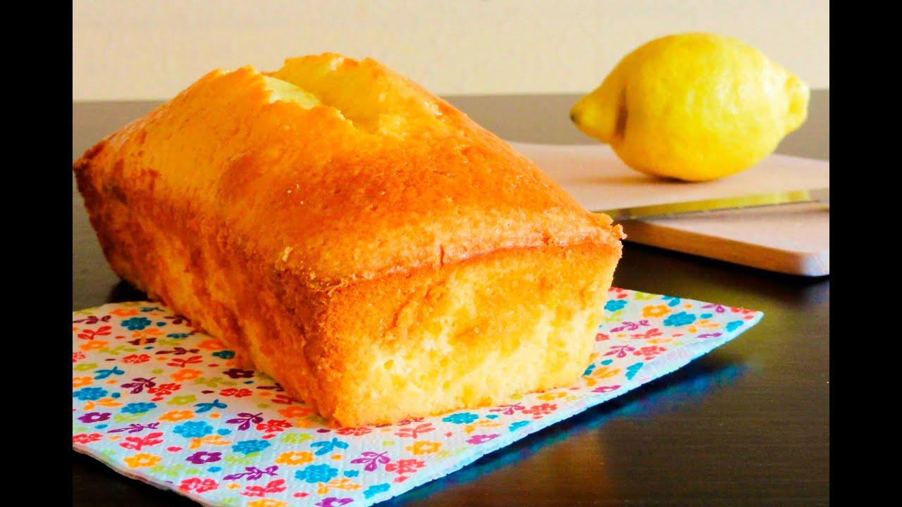 Gateau citron simple