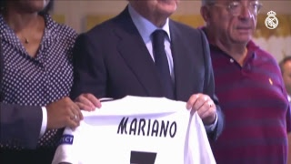 MARIANO Real Madrid presentation | FULL STREAM