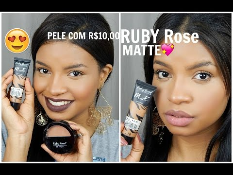 Ruby Rose Base Matte- PELE MARA só com R$10,00?! -