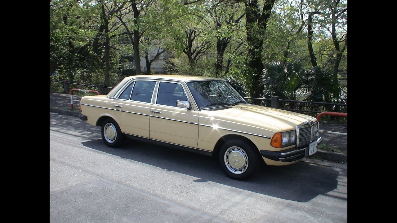 Mercedes benz 230e w123 39 1985 youtube for Mercedes benz 230e