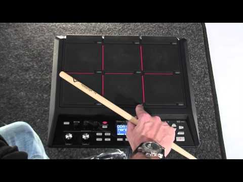 SPD-SX Sampling Pad - with Craig Blundell