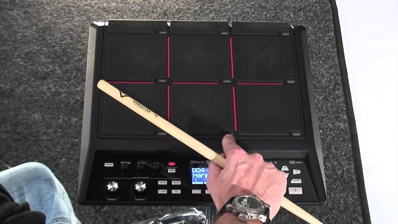 SPD-SX Sampling Pad - with Craig Blundell - YouTube