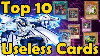 Top 10 Useless Cards in Yugioh
