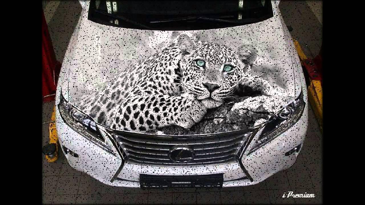 аэрография на авто фото, airbrush on cars photo, - YouTube
