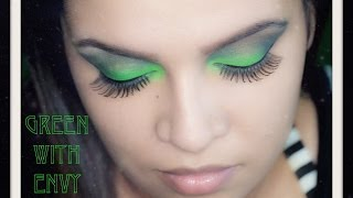 Make-up tutorial - Green with Envy - Eyeshadow and look Thumbnail