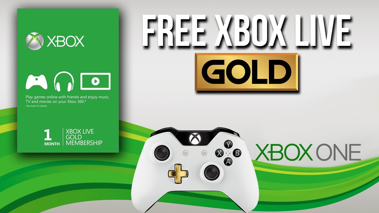 Get Free Xbox Gold Codes how to get free xbox live gold membership 2019