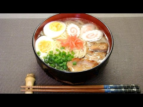 Thumbnail: How to make Light Ramen Noodle 塩ラーメンっぽいレシピ