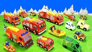 Feuerwehrmann Sam Filmheld Feuerwehrautos: Super Tech Jupiter 2 In 1 Spielzeug Unboxing Für Kinder