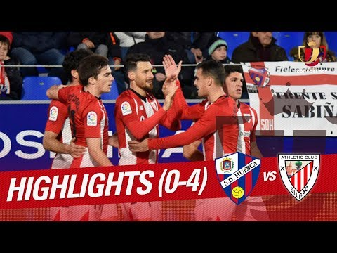 Resumen de SD Huesca vs Athletic Club (0-4)