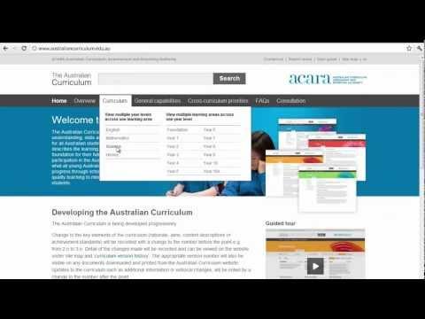 Sustainability In The Australian Curriculum