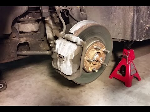 How to Replace Front Disc Brakes – Lincoln Continental (And most other vehicles)