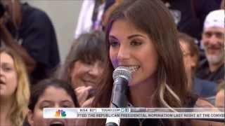 Christina Perri - Jar of Hearts (Today Show)