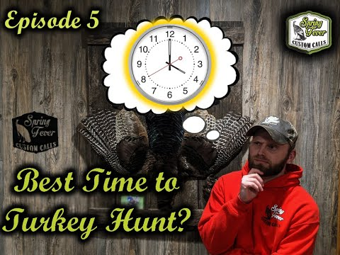 What's The Best Time to Turkey Hunt?