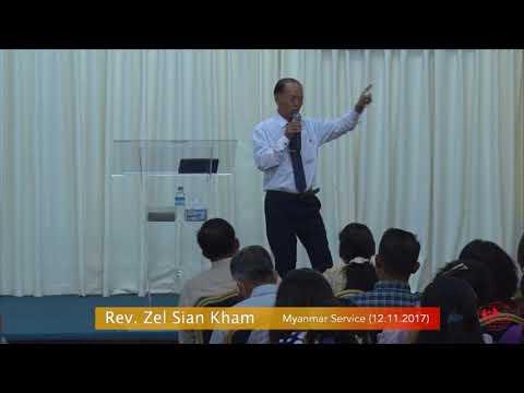 Rev. Zel Sian Kham on November 12, 2017 (M)