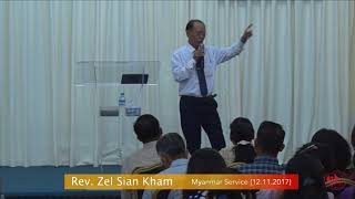 Rev. Zel Sian Kham on November 12, 2017 (M)
