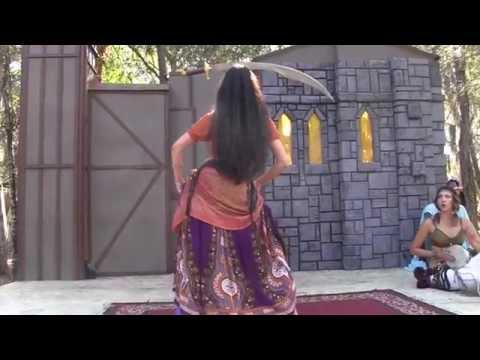 Awesome Medieval Fair Sharp Sword Dance