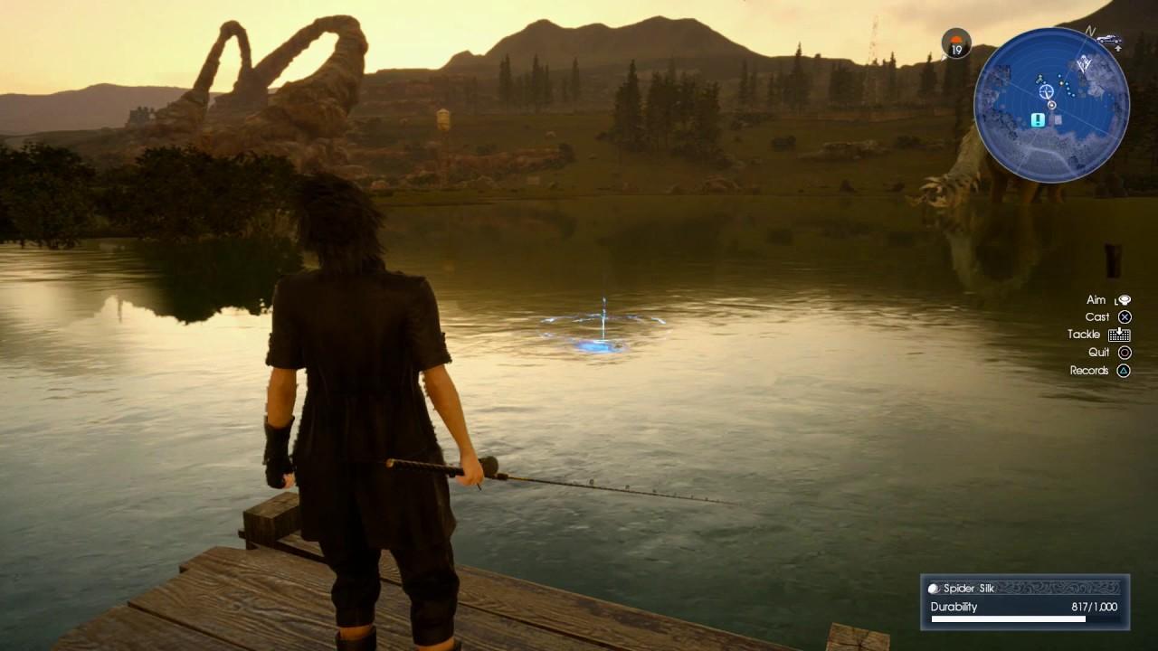 Final fantasy xv fishing buddies quest walkthrough for Final fantasy 15 fishing guide
