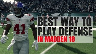 Video Best Way To Play Defense In Madden 18 - Lock Up! download MP3, 3GP, MP4, WEBM, AVI, FLV September 2017