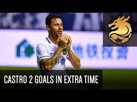 Rubén Castro scoring 2 goals in extra time!    Shanghai Shenhua 0-3 Guizhou Zhicheng  (HD)