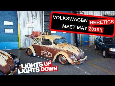 VW Meet at VW Heritage - VW Heretics MAY 2019 - Porsche