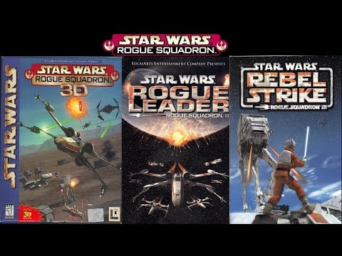 Star Wars: Rogue Squadron Trilogy Game Movie (All Cutscenes) (chronological order) HD 1080p