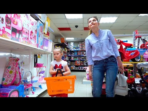 NastyaPlay And Mom Doing Shopping In Toy Store
