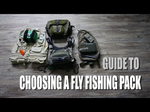 Choosing A Fly Fishing Pack