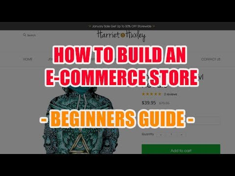 How To Build An eCommerce Website From Scratch With CommerceHQ - Beginners Guide