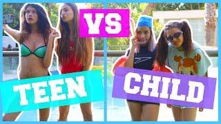 נוער vs ילדים בקיץ | שיתוף פעולה ענק! שלמה :)