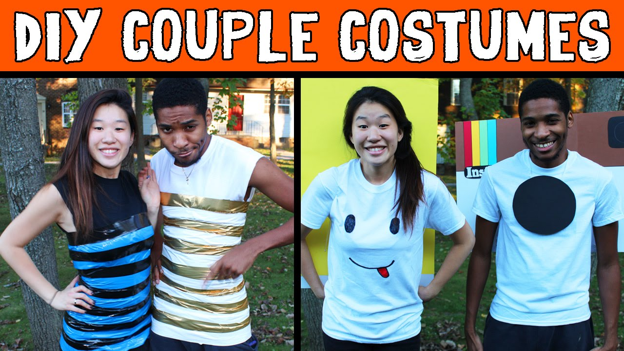 Cheap Diy Halloween Costumes For Couples Instagram