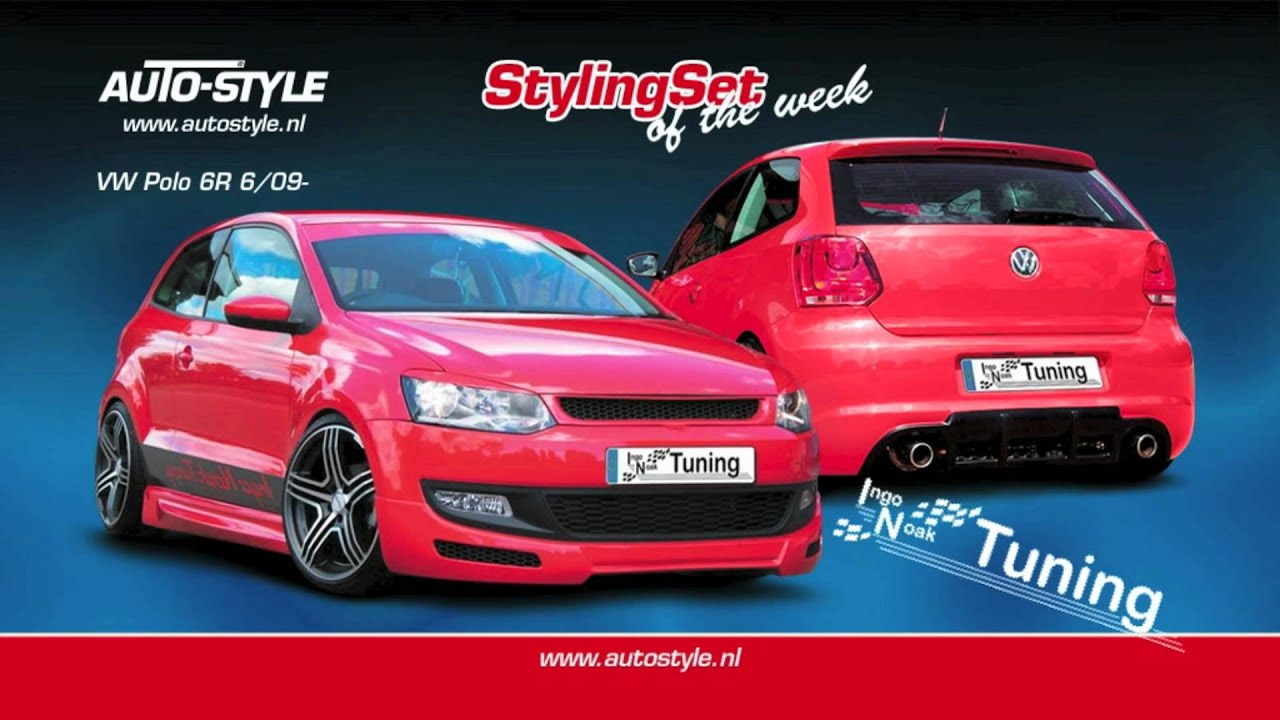 stylingset vw polo 6r 6 09 by autostyle youtube. Black Bedroom Furniture Sets. Home Design Ideas