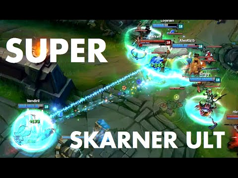 Chiêu cuối của Skarner với tốc độ tối đa sẽ diễn ra như thế nào?