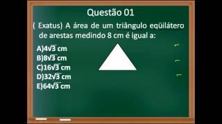 Aula 14   Área do triângulo equilátero