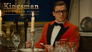 "Kingsman: The Golden Circle | ""Dinner Guest"" TV Commercial 