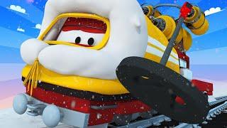 Troy der Zug -  Troy der Zug ist arktischer Erkundungszug und findet einen Schatz - Autopolis   🚄