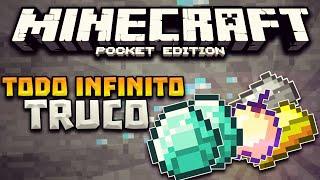 minecraft pocket edition 0 16 0 truco como duplicar items diamantes para siempre