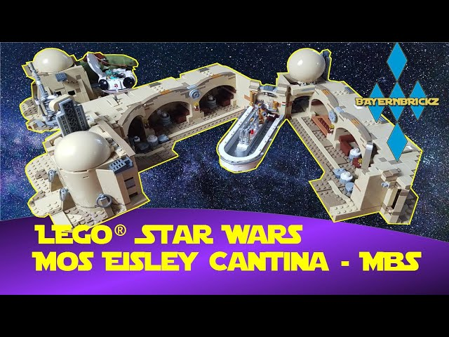 Lego Star Wars Mos Eisley Cantina 75290 - Master Builder Series (Kooperation mit Bayernbrickz)