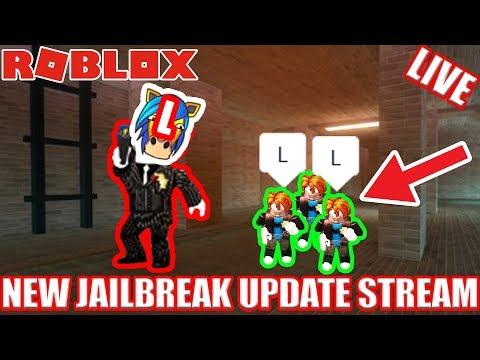 NEW SEWER ESCAPE!! Jailbreak Update Stream (possible face cam???) | 🔴 Roblox Jailbreak UPDATE LIVE!