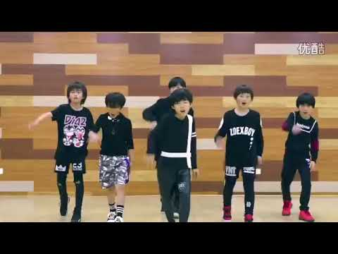 Kungfu boys dance - in 2016