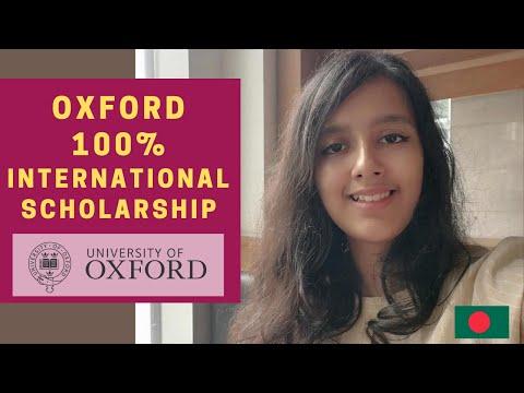 How to find UK undergrad international scholarships by Oxford Reach Scholarship (100%) Winner Orthi